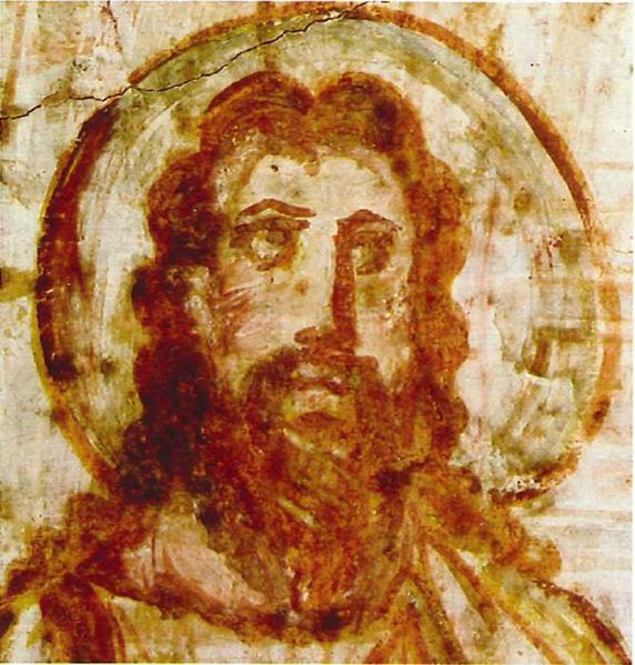mural painting of Jesus