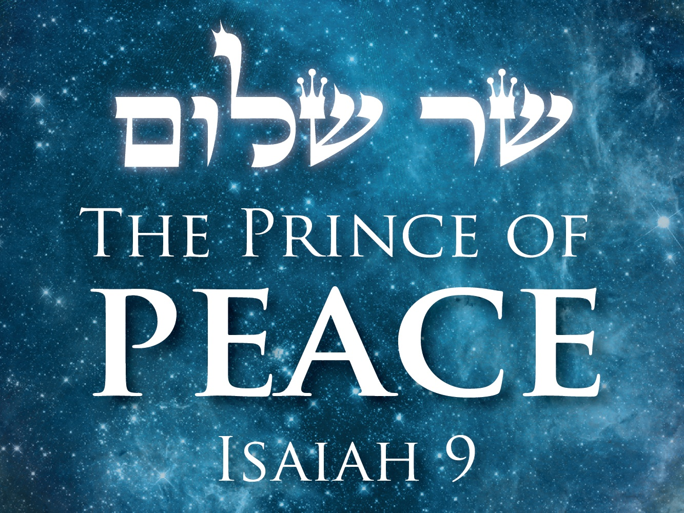 If Jesus is the Prince of Peace, Then Why is There Still so Much ...