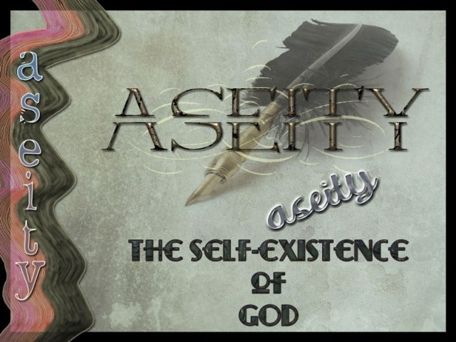 aseity of God