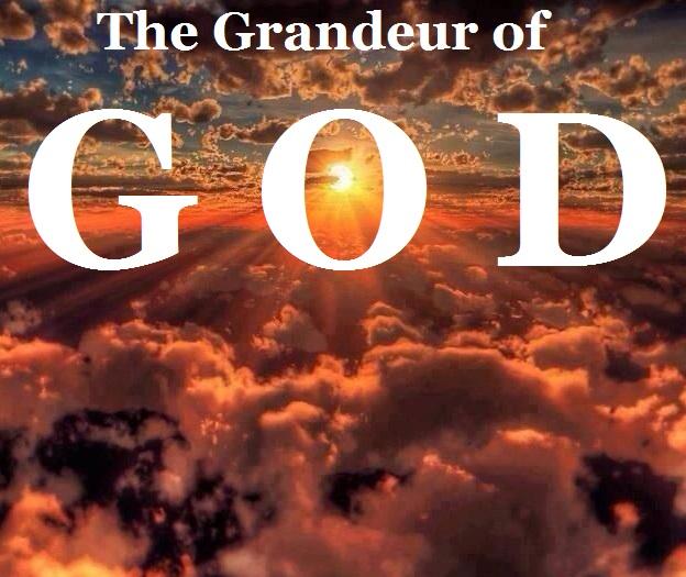 Grandeur of God with words