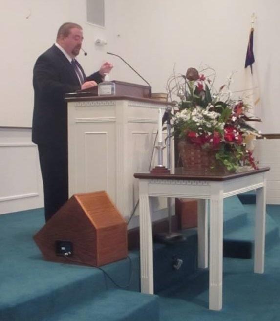 Brian Chilton preaching
